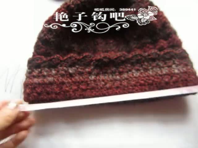 席子花帽子编织图片