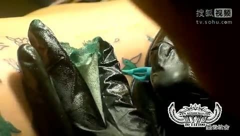 """""""北京纹身全过程,一位美女的纹身"""