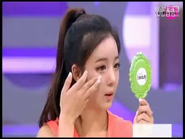 韩国女生化妆全过程,看看她们是怎么化彩妆的