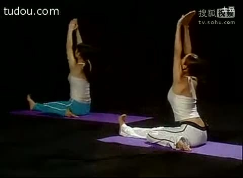 swf动态素材瑜伽