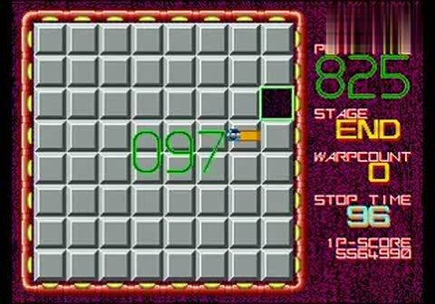 经典街机游戏:-《益智移砖块》一币575W通关 BY REM-0007