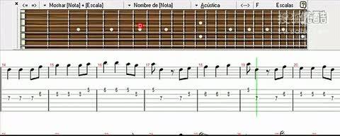 《加勒比海盗》吉他谱