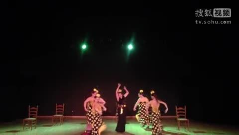 西班牙妹子奔放演绎弗拉门戈版江南Style