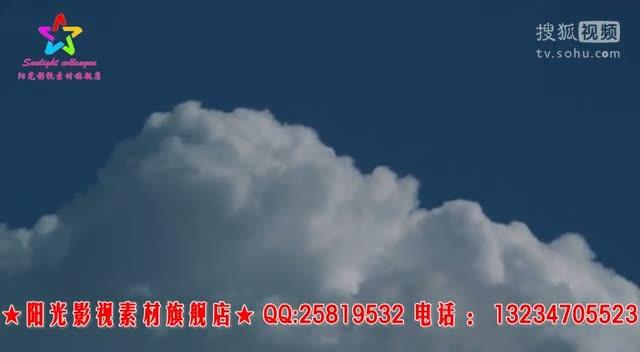白云飘动视频 蓝天白云视频素材led大屏幕动态背景素材