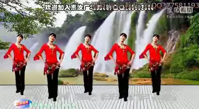 莉莉广场舞青海情歌_