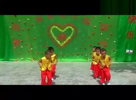 幼儿园中班集体舞《 中国美》 中国神曲 幼儿园中班全班小朋友集体
