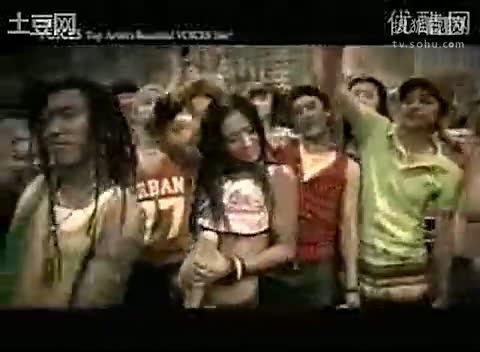 韩国美女斗舞 【人人网