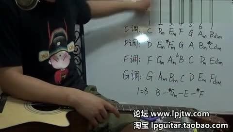 吉他l零基础初级入门教程视频