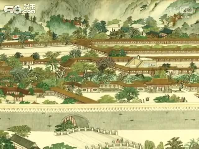 工笔山水画法 中国山水画技法视频