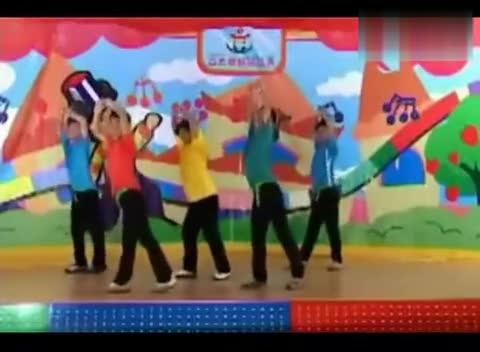幼儿园儿童舞蹈视频