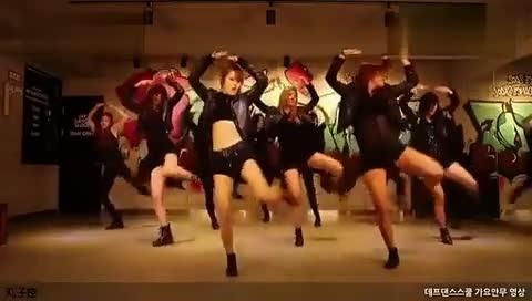 现代舞蹈 教学视频01 韩国