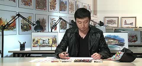 珠宝设计马克笔手绘分享展示
