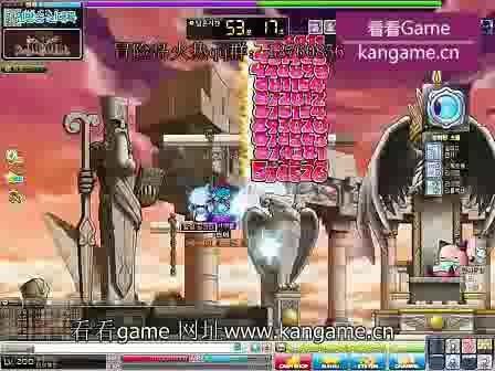 圣骑士pk普通品克缤 冒险岛200级恶魔复仇者203级圣