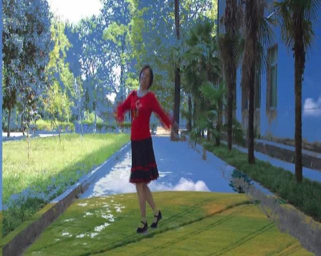 广场舞站在草原望北京阿中中 站在草原望北京歌曲