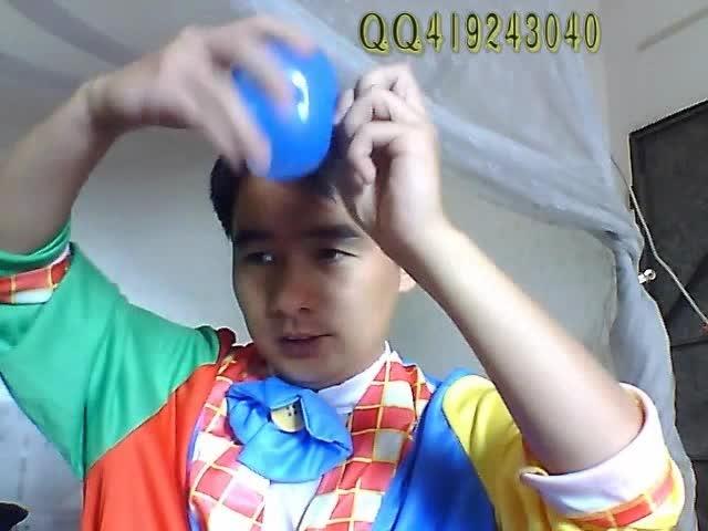 长气球编棒棒糖步骤视频