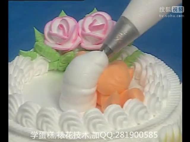 十二生肖蛋糕裱花视频_双层蛋糕裱花视频 生日蛋糕制作大全-原创视频-搜狐视频